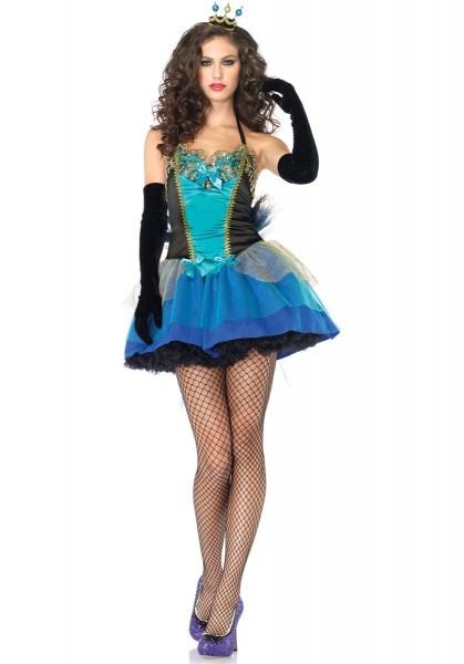 Ladies Pretty Peacock Costume, Leg Avenue Fancy Dress