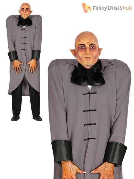 Mens Vampire Butler Costume Adult Fester Uncle Halloween Fancy