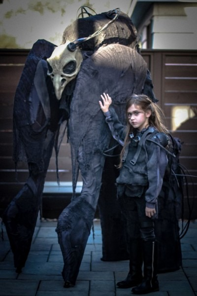Father And Daughter Create A Halloween Costume That Is Sure To
