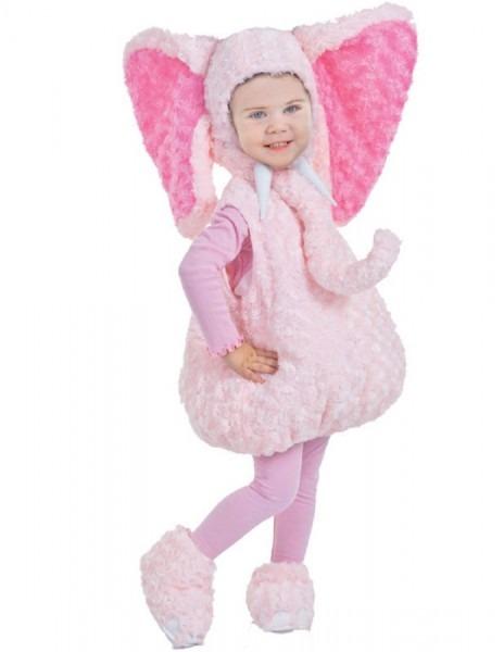Toddler Pink Elephant Costume 897164581779