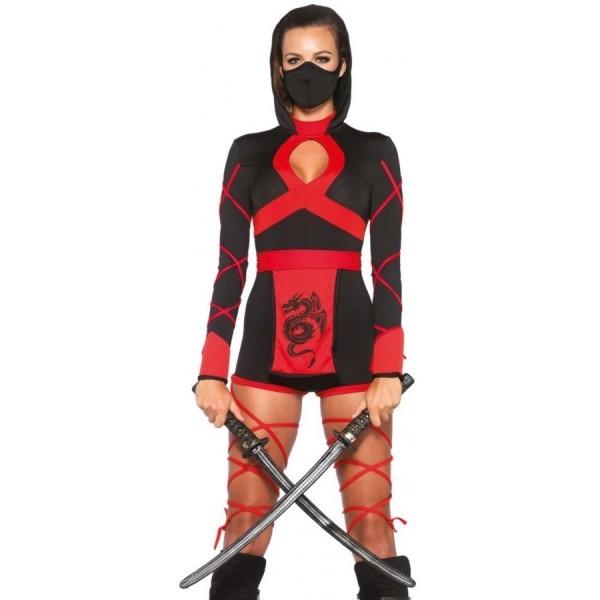 Dragon Ninja Assassin Womens Costume