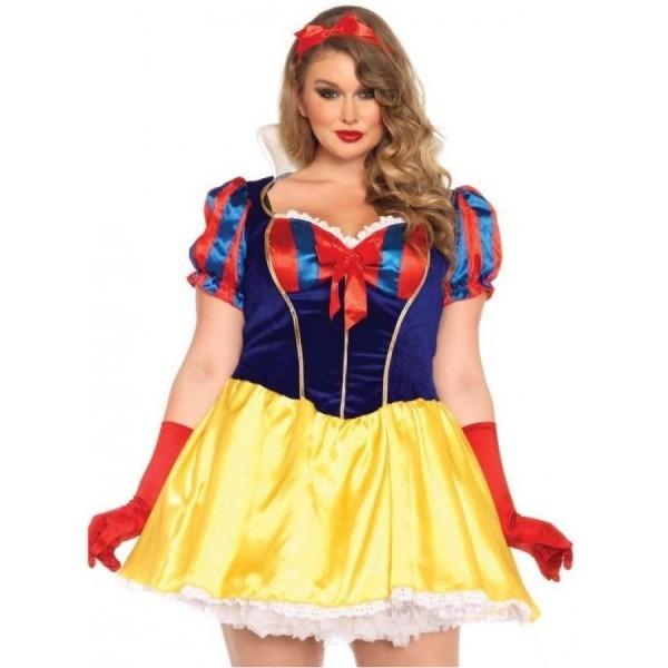 Poison Apple Princess Plus Size Snow White Costume