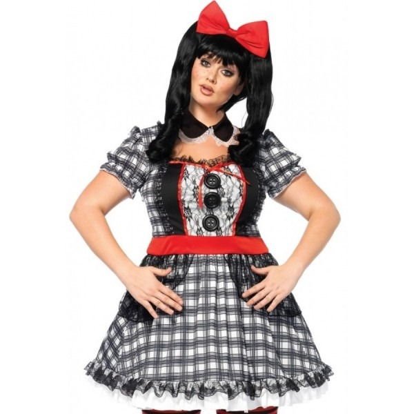Darling Dollie Plus Size Womens Costume