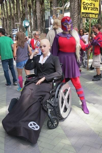 Professor X And Magneto Wondercon2014