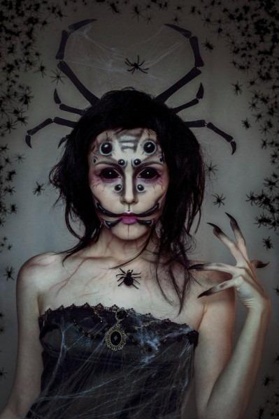 Queen Of Spiders Makeup By Helen