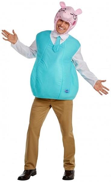 Peppa Pig Daddy Pig Adult Costume