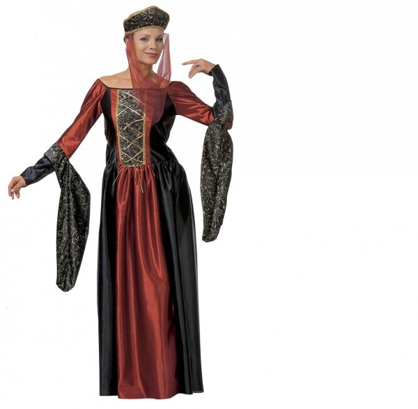Medieval Marquees Costume Dress Middle Ages Princess 18th Century