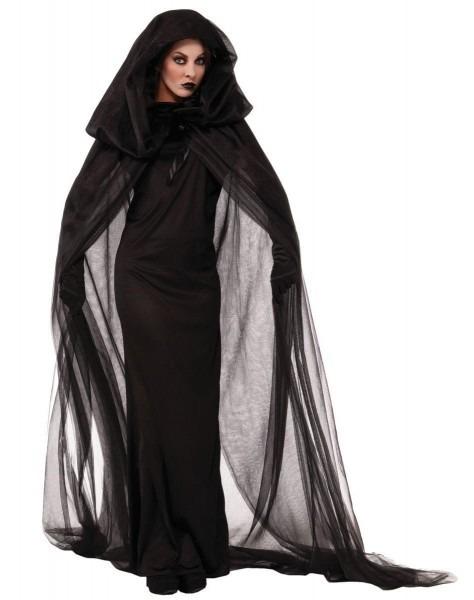 Lady In Black Costume In 2018