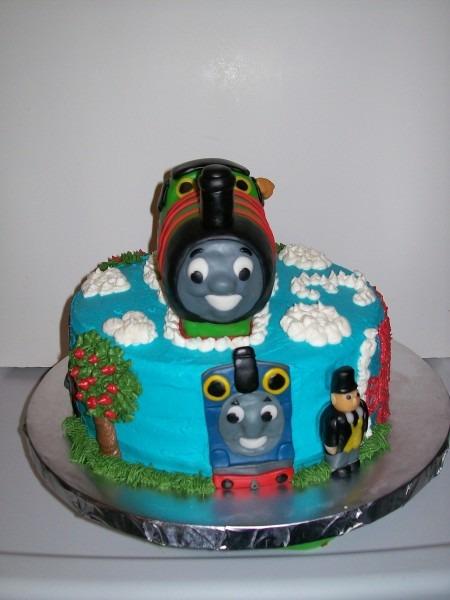 Percy The Train Cake