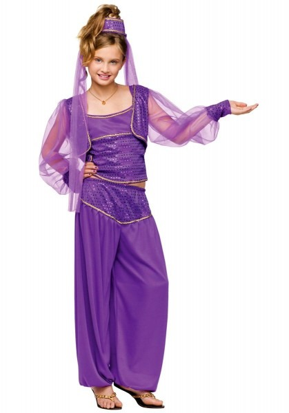 Kids Genie Dreamy Costume, Fantasy Fancy Dress