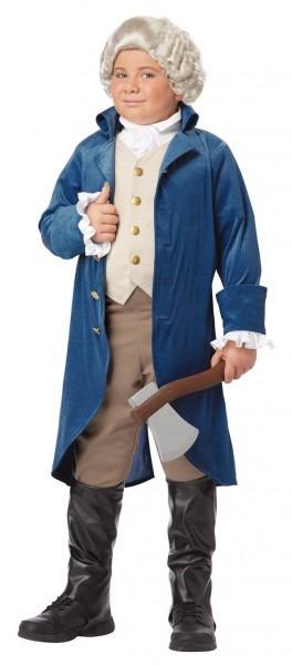 Halloween George Washinton Thomas Jefferson Child Costume