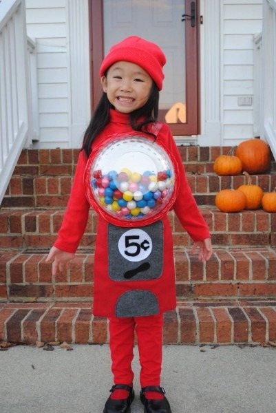 A Cute And Cheap Halloween Costume For A Little Girl! An Old