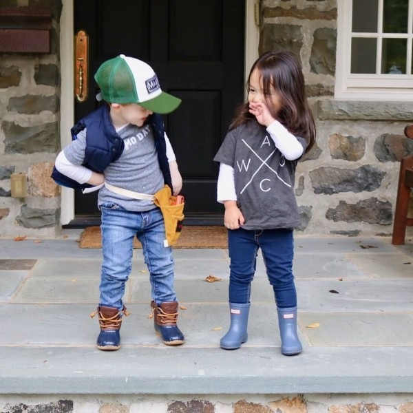 These Toddlers Dressed Like Chip + Joanna Gaines For Halloween And