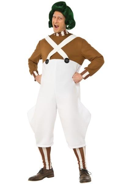 Deluxe Oompa Loompa Adult Halloween Costume