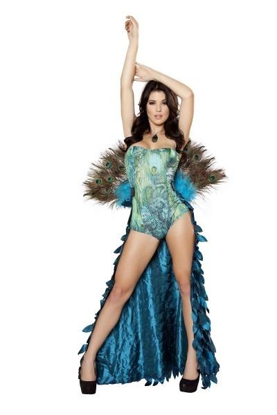 Adult Deluxe Pretty Peacock Women Costume