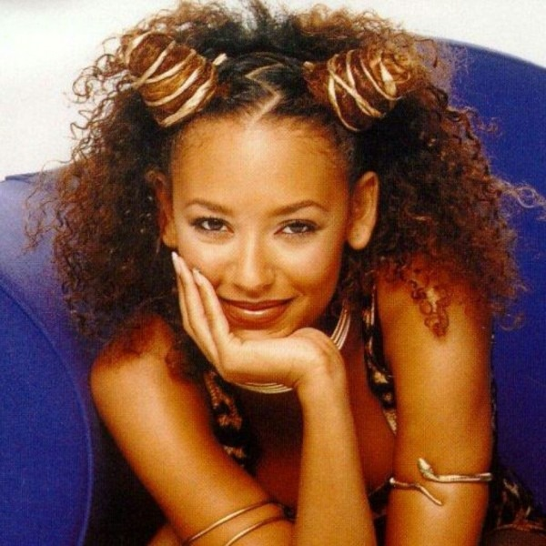 Scary Spice! With Her Natural Hair