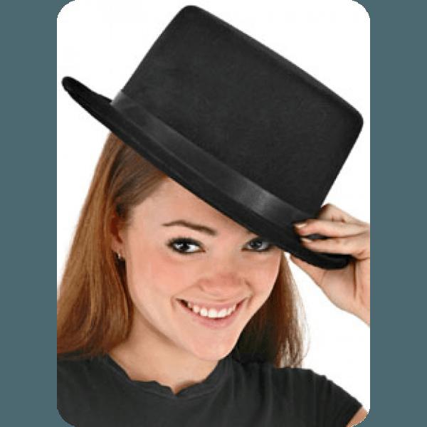 Classic Black Top Hat