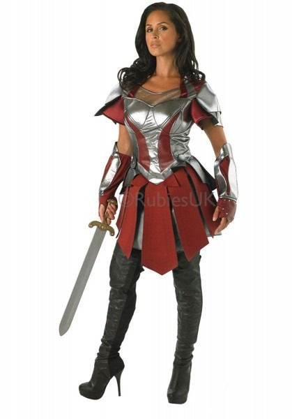Ladies Sif Costume, Official Thor 2 Movie Fancy Dress