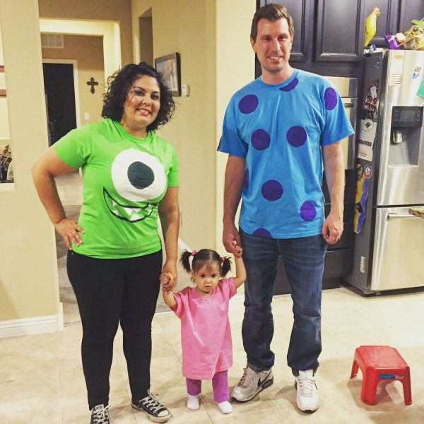 Diy Monster's Inc  Family Costume