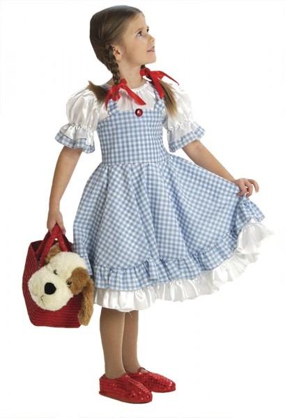 Girls Gingham Dorothy Costume