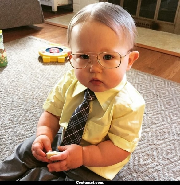 Dress Like Dwight Schrute (& Baby Schrute) From The Office For