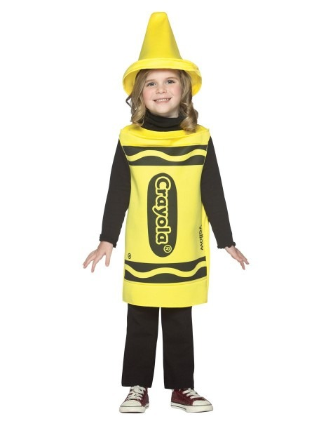 Crayola Yellow Crayon Costume For The More Crafty Parent