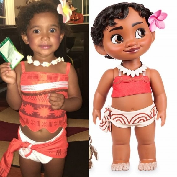 Baby Princess Moana Halloween Costume