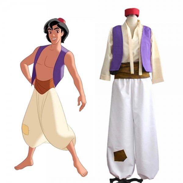 Adult Aladdin Costume Arabian Prince Costume Aladdin Cosplay Suit