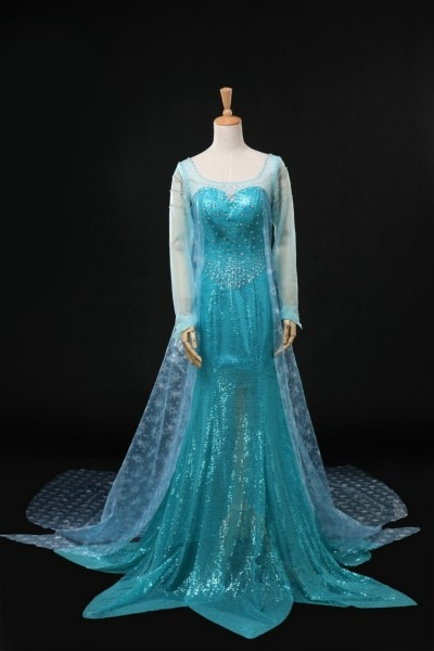 Adult Cosplay Queen Elsa Costume Custom Made Princess Elsa