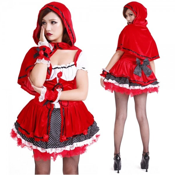 Adult Little Red Riding Hood Costume Classic Fairytale Costume