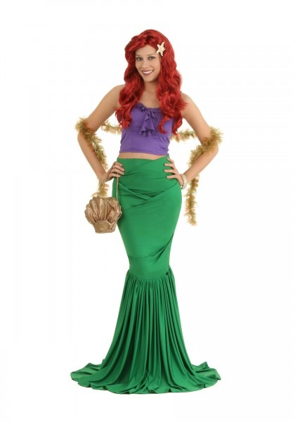 Girls Ariel Ultra Prestige Halloween Wig Official 09e98 77609