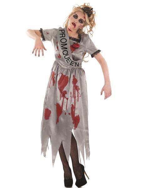 Adult Zombie Prom Queen Costume