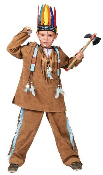 Kids Pow Wow Indian Boy Costume
