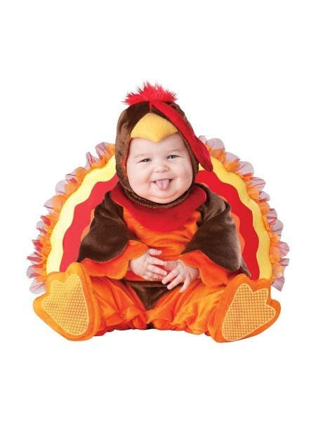 Amazon Incharacter Baby Lil Gobbler Turkey Costume Clothing