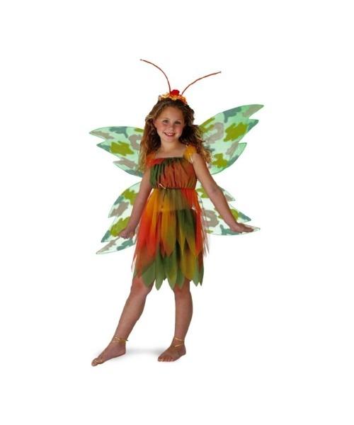 Amber Woodland Fairy Costume