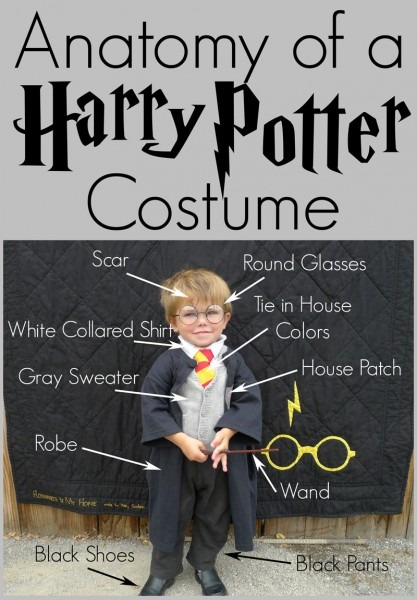 Pieces By Polly  Diy Harry Potter Costume