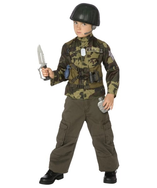 Army Soldier Costume Kit