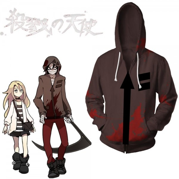 Asian Size Japan Anime Angels Of Death Isaac Foster Halloween