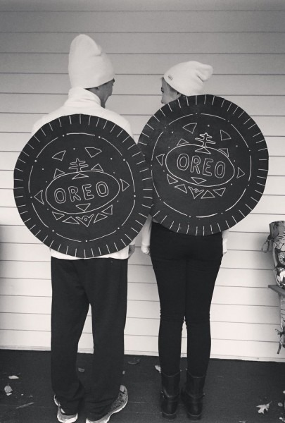 Cute Couples Costume  Double Stuffed Oreo