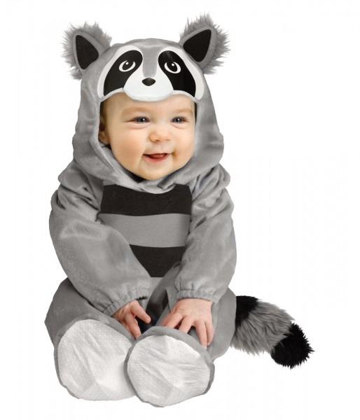 Baby Boy Raccoon Halloween Animal Costume
