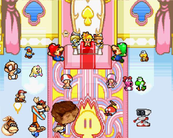 Baby Mario And Baby Luigi And Baby Peach And Baby Daisy 46014
