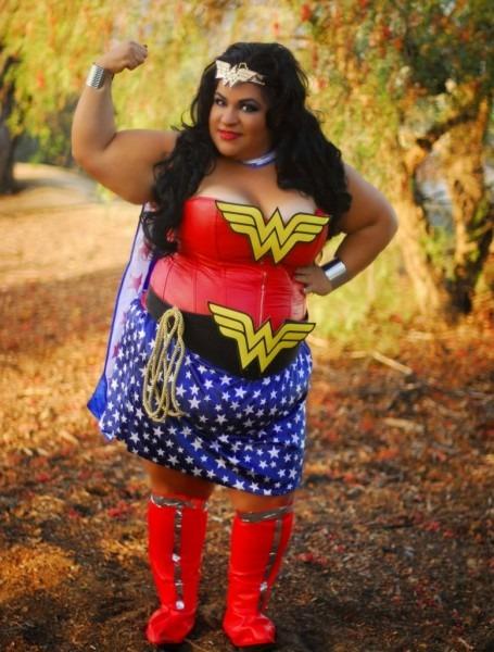 Plus Size Wonder Woman We Exist! Diy Cosplay