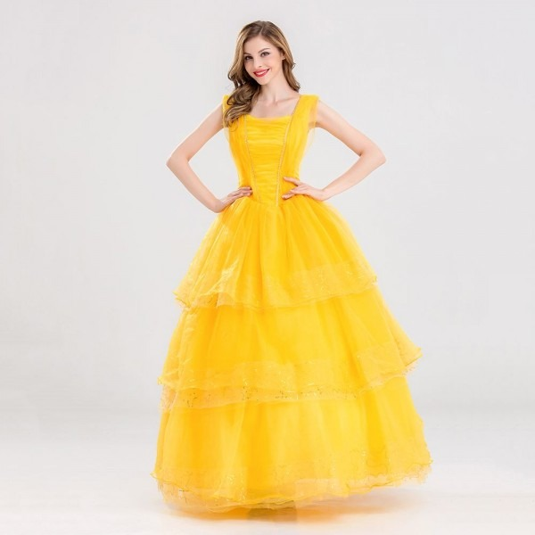 Beauty And The Beast Movie Role Belle Village Classic Girls