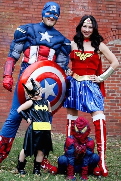 12 Staggering Family Halloween Costumes 2018 Image Inspirations