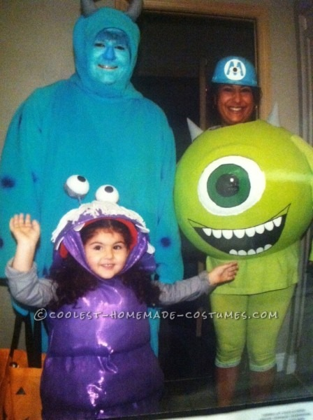 Best Monsters Inc  Costumes Ever!
