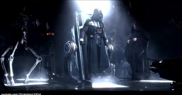 Skywalker Becomes Darth Vader