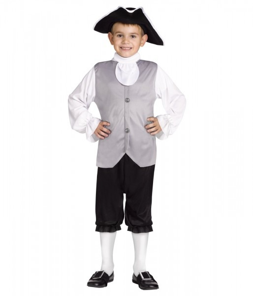Historic Colonial Boys Costume