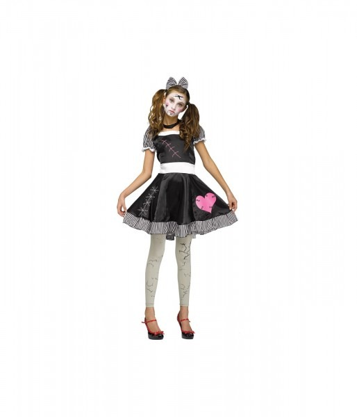 Broken Toy Doll Teen Costume