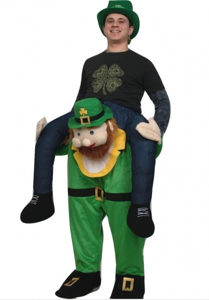 Adult Carry Me Buddy Ride On A Shoulder Piggy Back Leprechaun