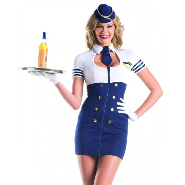 Mile High Service Womens Halloween Costume